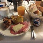 Complementary Breakfast Italian style