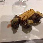solomillo iberico con turron de patata