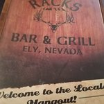 Foto de Racks Bar and Grill