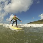 Learning to surf is fun