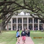 Oak Alley Plantation Front