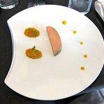Foie gras de Canard, Chutney de fruits exotiques...
