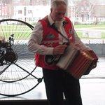St David's Day musician