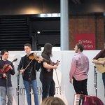 St Davids Day musicians