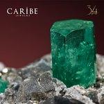 Colombian emerald. Caribe emerald. Forever green - Esmeralda colombiana. Verde siempre.