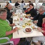 Tapas lunch in Caleta del Sebo.