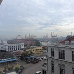 View of Colombo Harbour from room