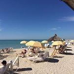 Pretty, private beach area for resort guests