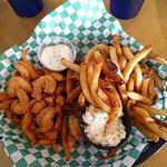 Fish and clam basket
