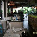 interior view of restaurant