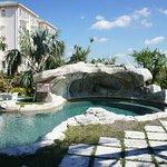 Relaxing pool oasis