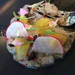 The multiple textured ceviche was a very good start to a nice dining experience