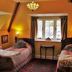 Refurbished Twin Room with stunning views & en-suite bathroom