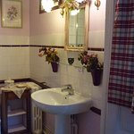 La salle d'eau de la Romantique