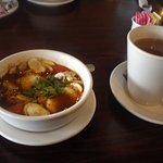 Tom Yum Soup and Jasmine Tea