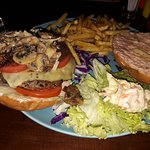 Very tasty juicy burger with very affordable price and excellent service