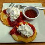 Weekend Brunch - 4th Course - Pancakes