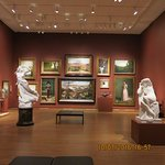 One of the American galleries at the Philadelphia Museum of Art