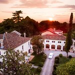 Relais & Chateaux Villa Franceschi view from the sky
