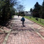 Walking along the Grand Promenade