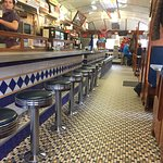 A quiet March Saturday morning at the Delta Diner.