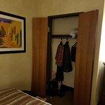 closet (with laptop safe)
