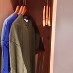 Hanging space in wardrobe
