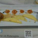 El plato es de Tartar, pero en la presentación he colado una croqueta a la derecha.