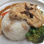 Chicken with Marsala sauce