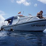 The Iguana Dive Boat