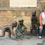 Photo of Paul Street Boys monument