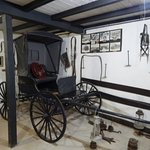 The carriage house on the seat is dulling pistols