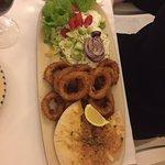 Calamari main course