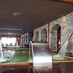 spa del hotel, zona de piscina.
