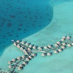 Mount Otemanu and Intercontinental Bora Bora Le Moana Resort