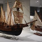 The Maritime Museum is full of beautiful ship models