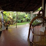 Our wonderful veranda, complete with hammock