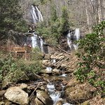 Beautiful falls with a 0.4 mile paved path to reach it. Admissions is $3 per person for ages 16