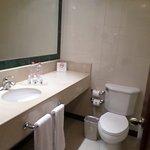 Bathroom on room 134