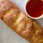 Calzone stuffed with your choice of fillings