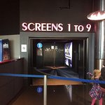 A few pictures of the cinema!