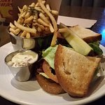 BLT and rosemary-garlic fries