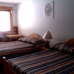 hotel room # 9- can accommodate 2-4 guests, very clean