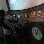 El museo simula el interior de un submarino