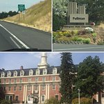 Driving into Pullman + Stimson Hall
