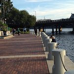 Riverwalk and Kennedy Bridge from the Straz