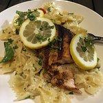 Cajun Salmon Bow Tie Pasta