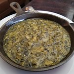 Side dish #2- creamed spinich
