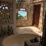 View from Villa 8 bathroom