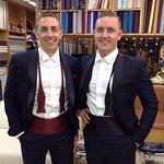 The finished tuxedos